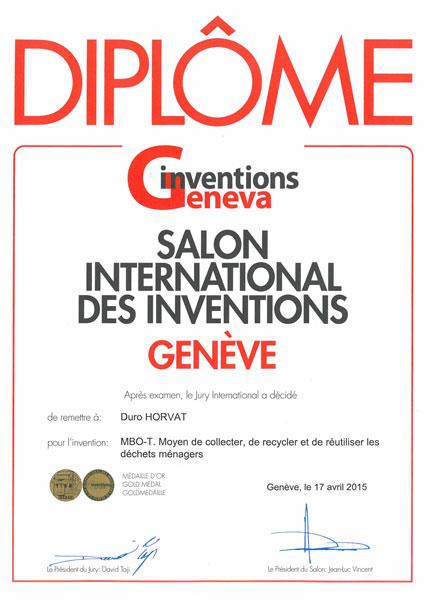Geneva 2015. – Sajam inovacija