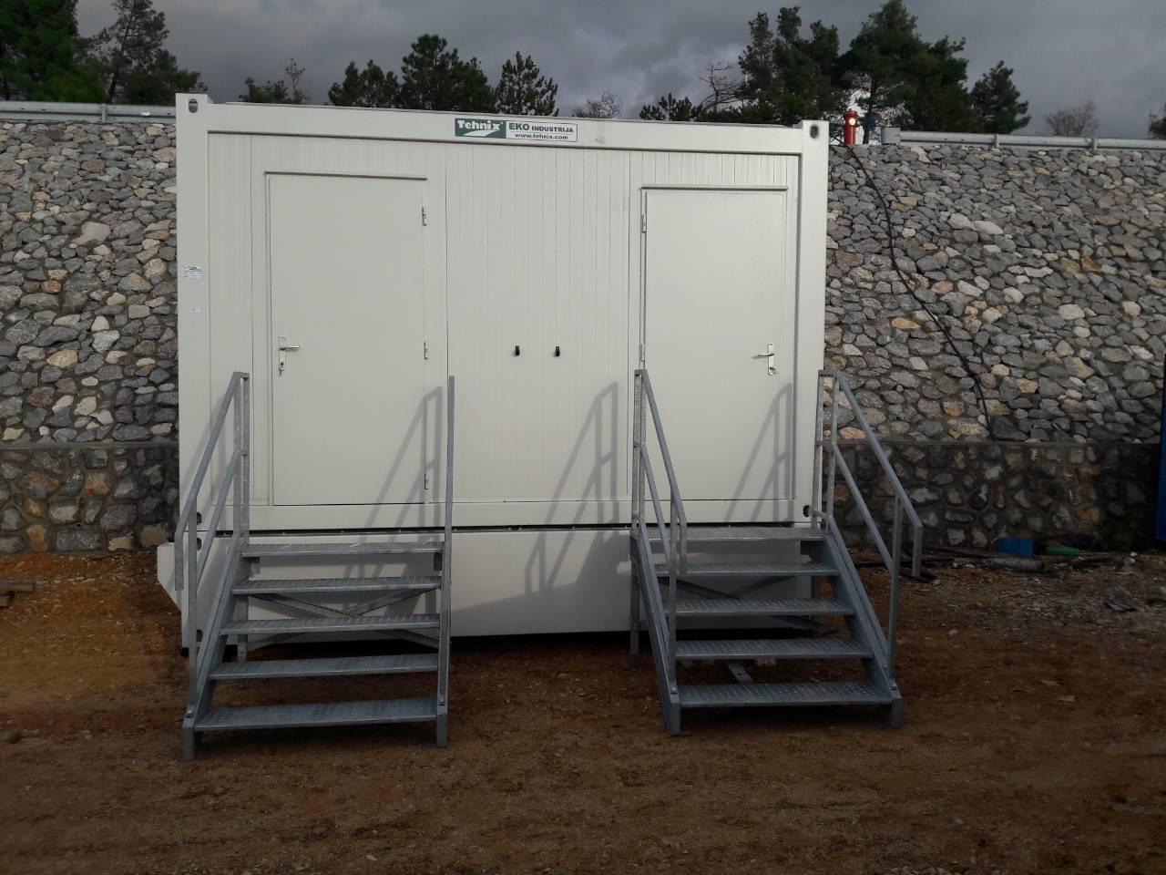 Isporuka sanitarnog kontejnera sa spremnikom za prihvat fekalija