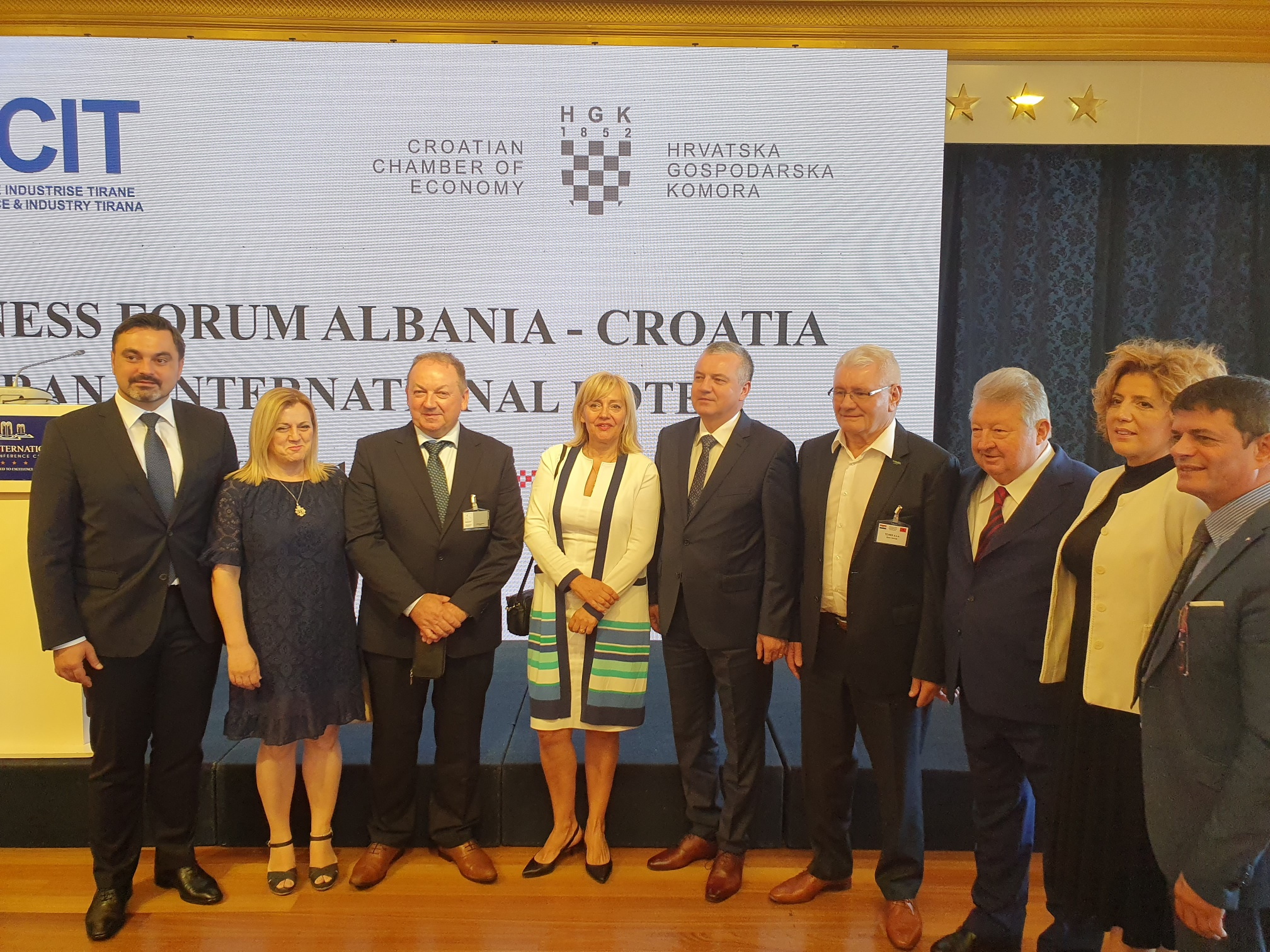 Business forum Albania – Croatia in Tirana