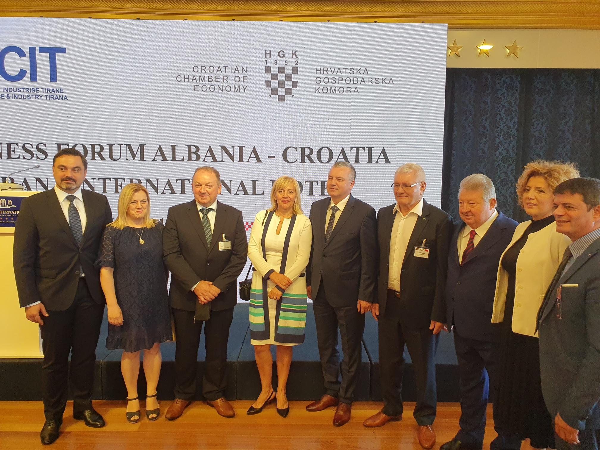 Albansko-hrvatski gospodarski forum u Tirani
