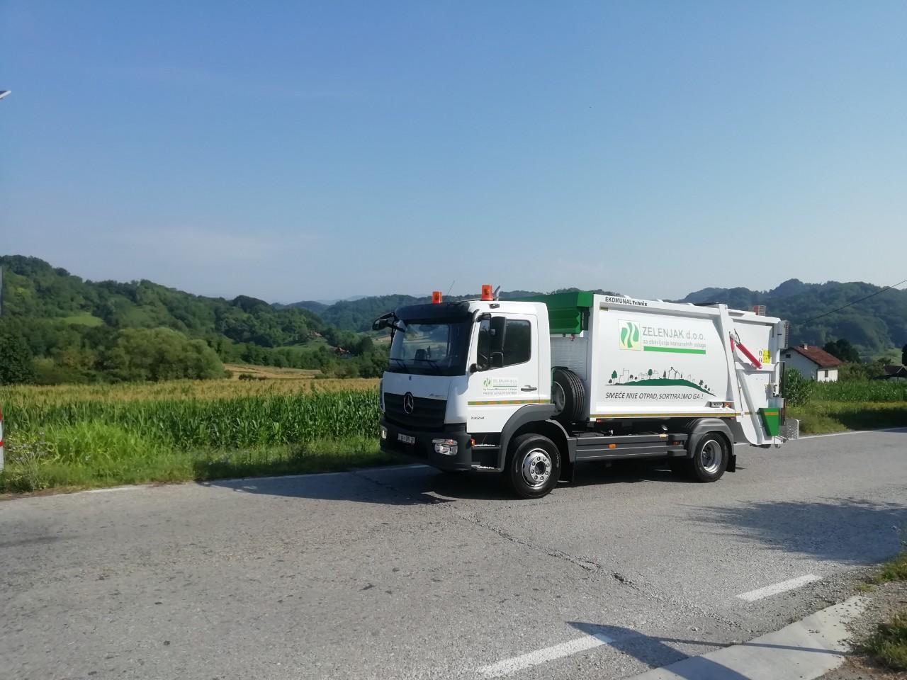 Isporuka za komunalno poduzeće Zelenjak d.o.o.