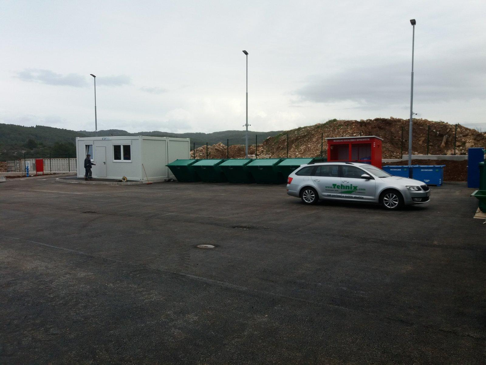 Recycling yard Vela Luka