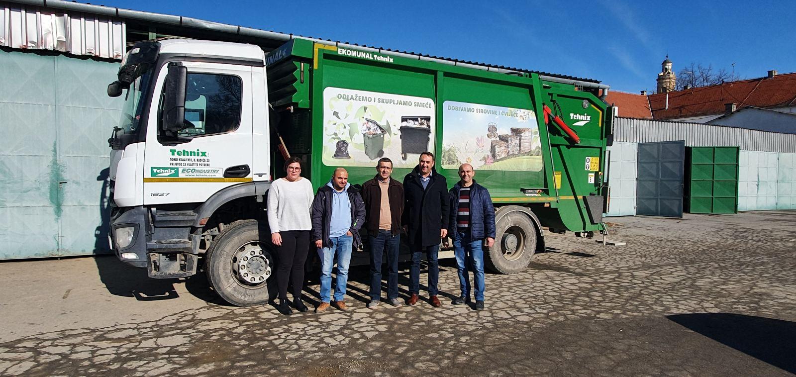 Delivery of utility vehicle EKOMUNAL 16 m3 for Urbanizam d.o.o. Valpovo