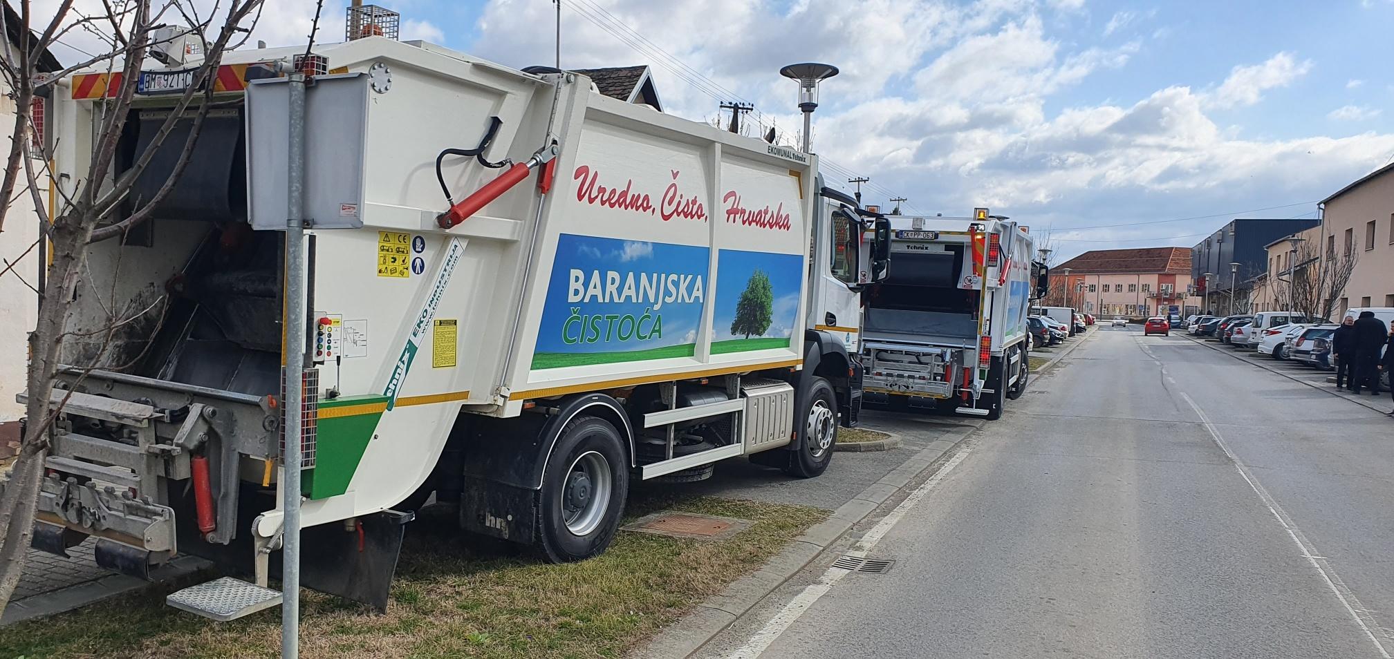 Isporuka komunalnog vozila za Baranjsku Čistoću