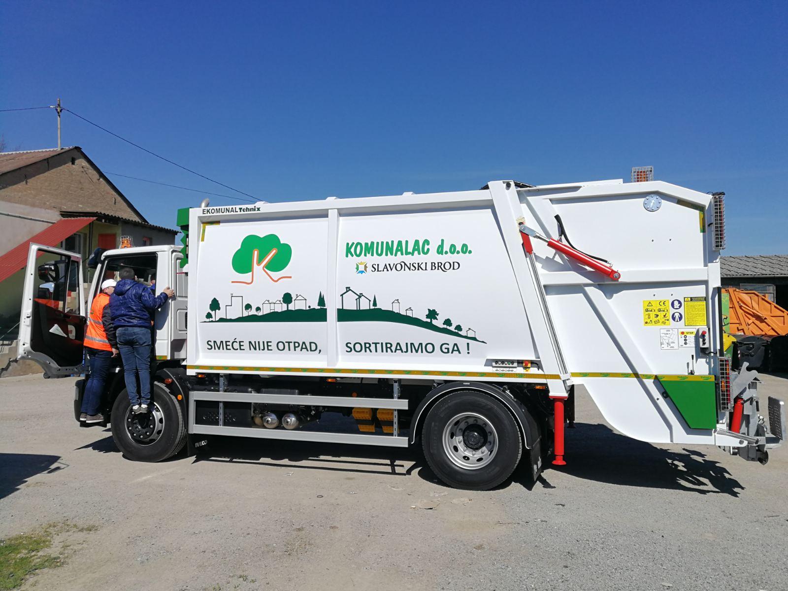 Delivery of utility vehicle in Slavonski Brod