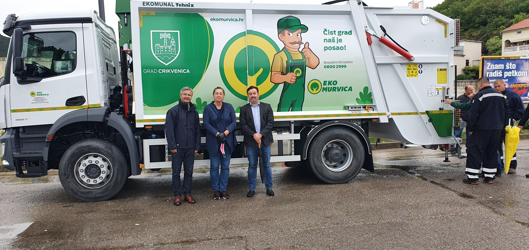 A Delivery of a Special Utility Vehicle to Eco Murvica d.o.o.