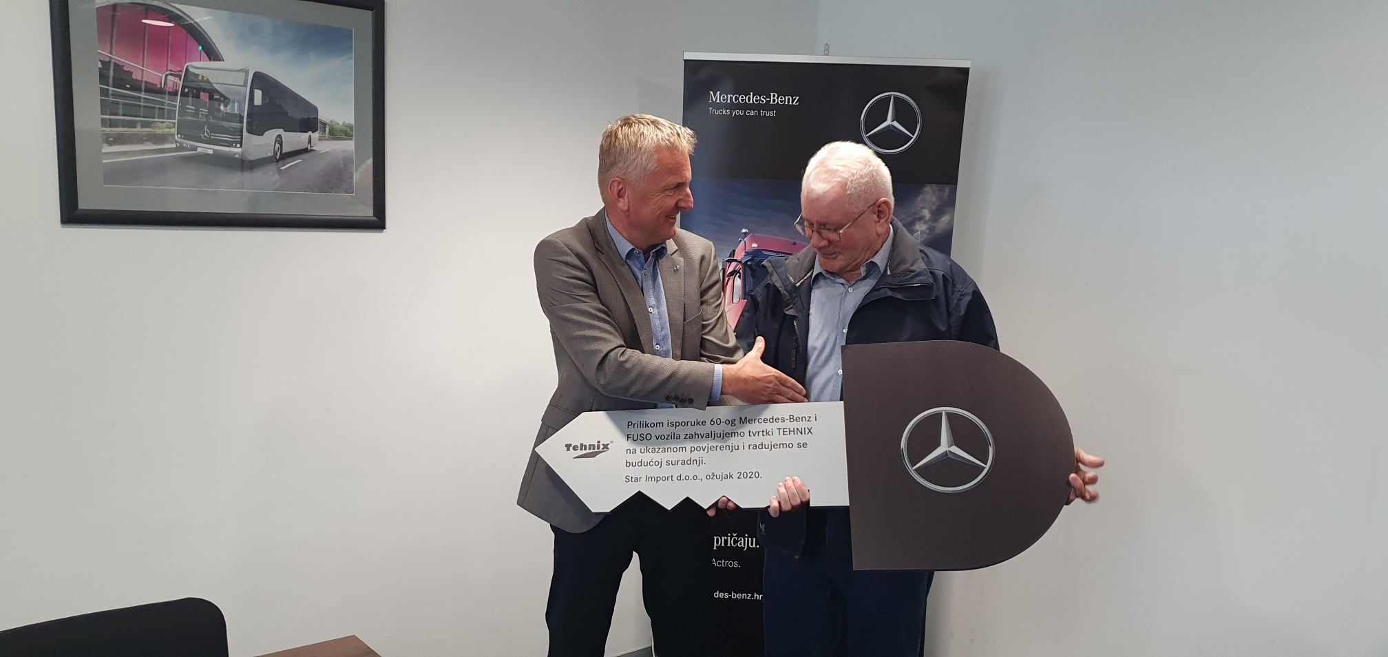 Cooperation Tehnix – Mercedes