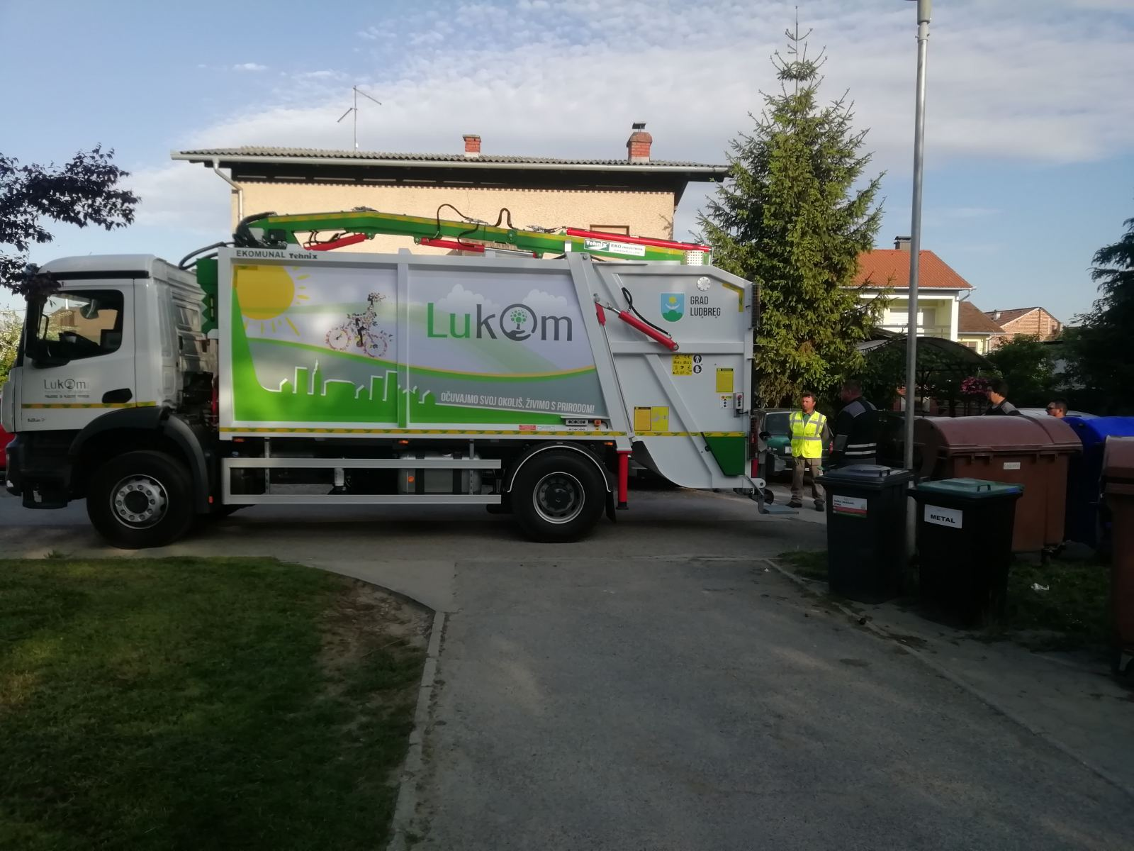 Delivery of municipal vehicle for Lukom d.o.o. Ludbreg