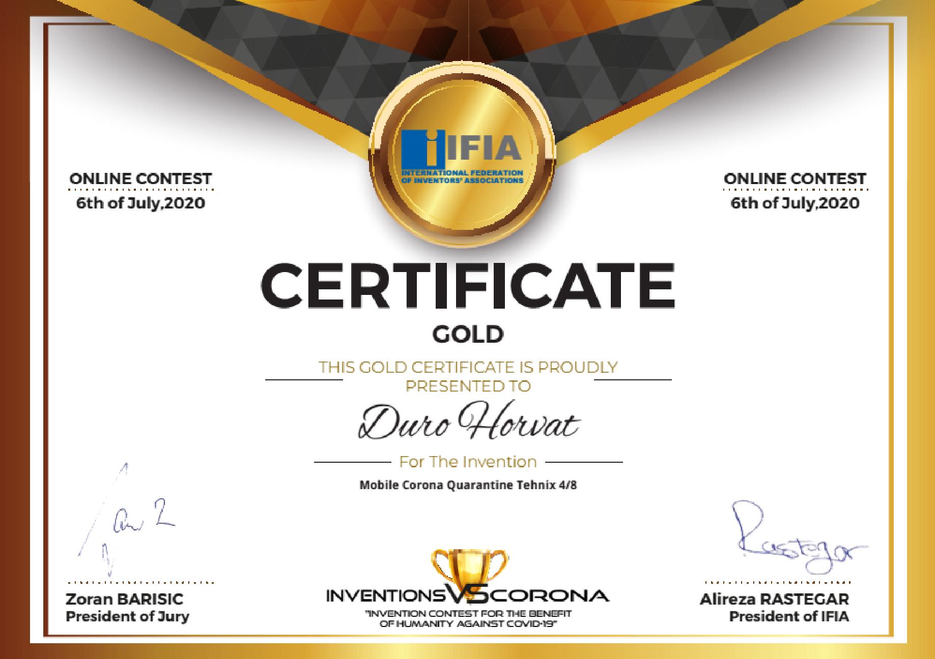 IFIA Award