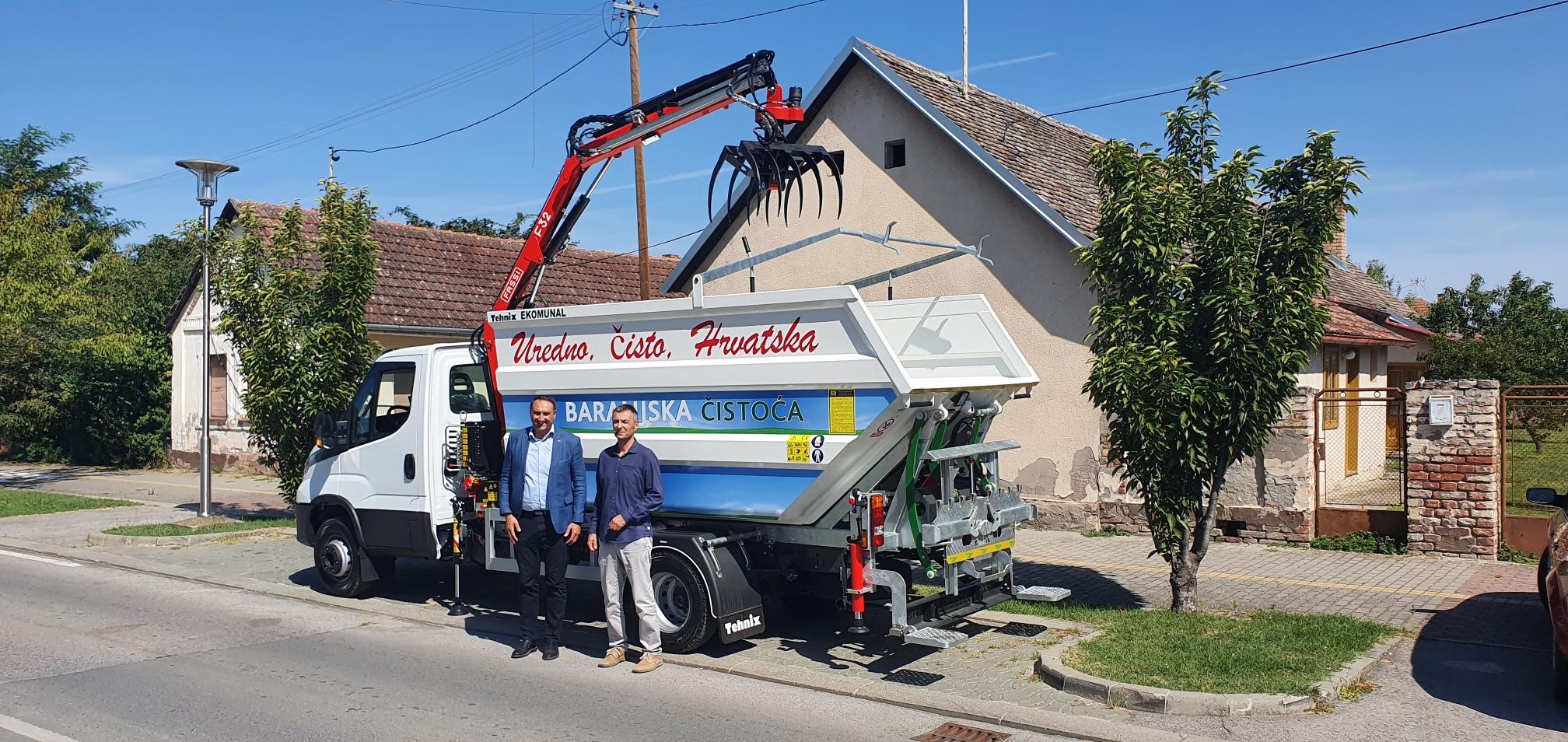 Isporuka komunalnom poduzeću Baranjska Čistoća