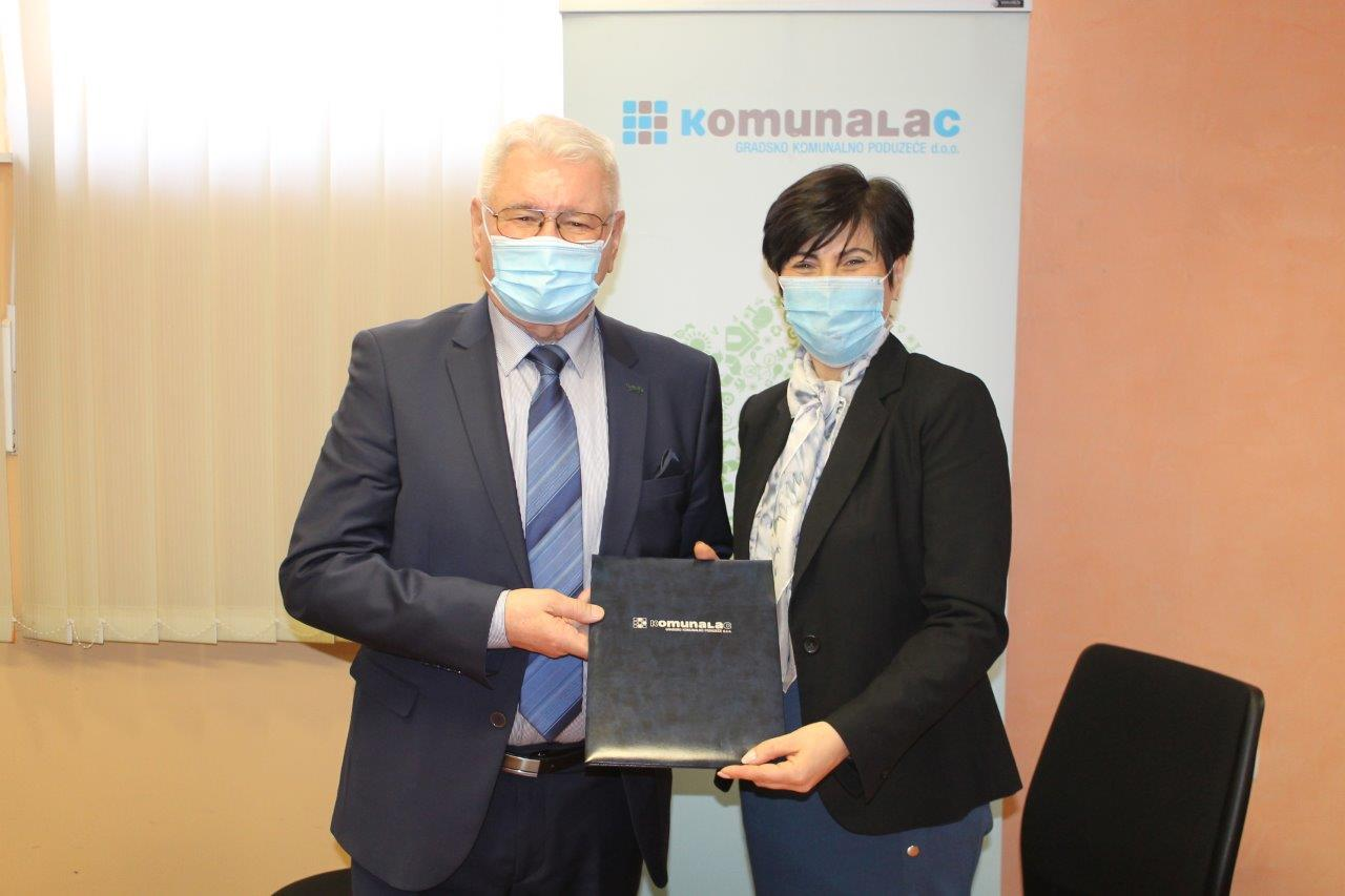 Conclusion of Contract with Komunalac d.o.o. Koprivnica