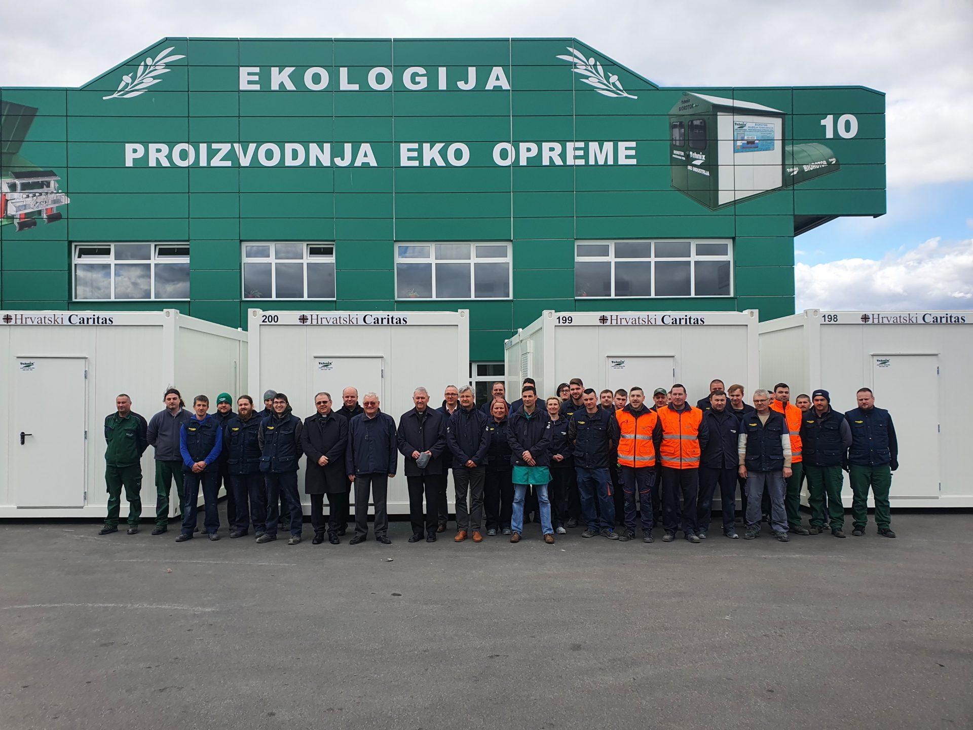 Hrvatski Caritas u kompaniji Tehnix