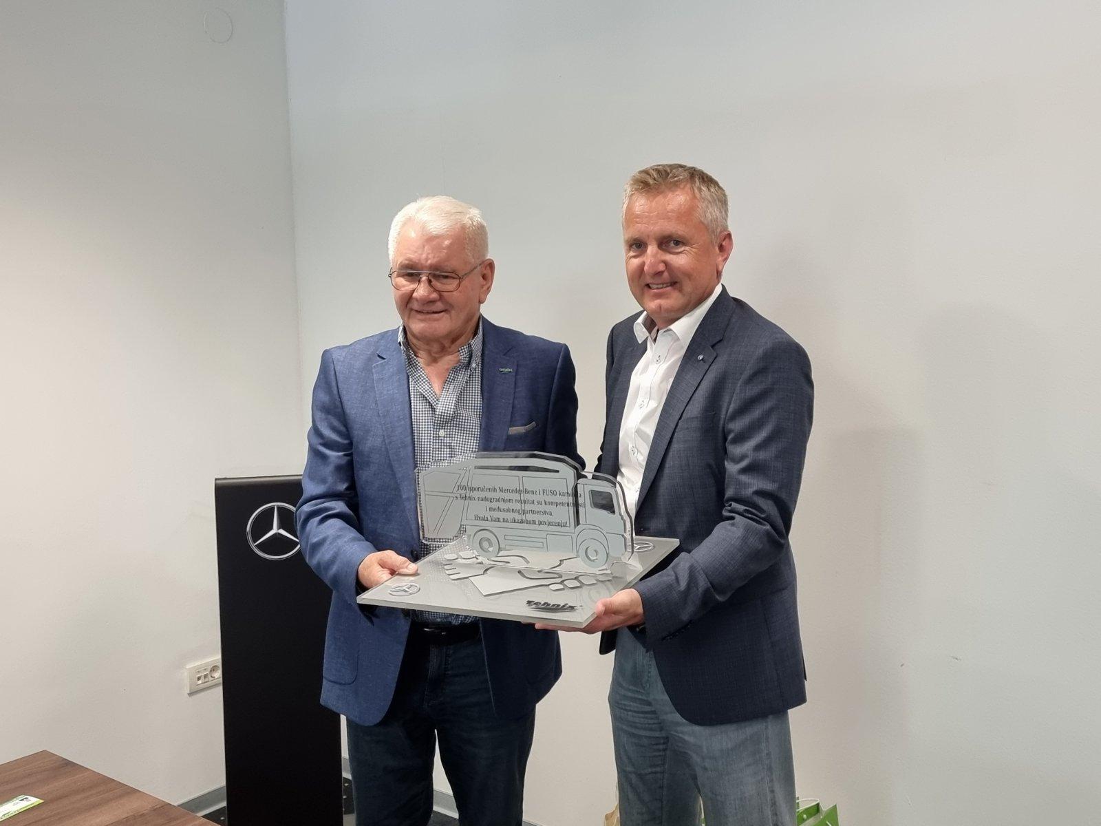 Uspješna suradnja kompanija Tehnix i Mercedes