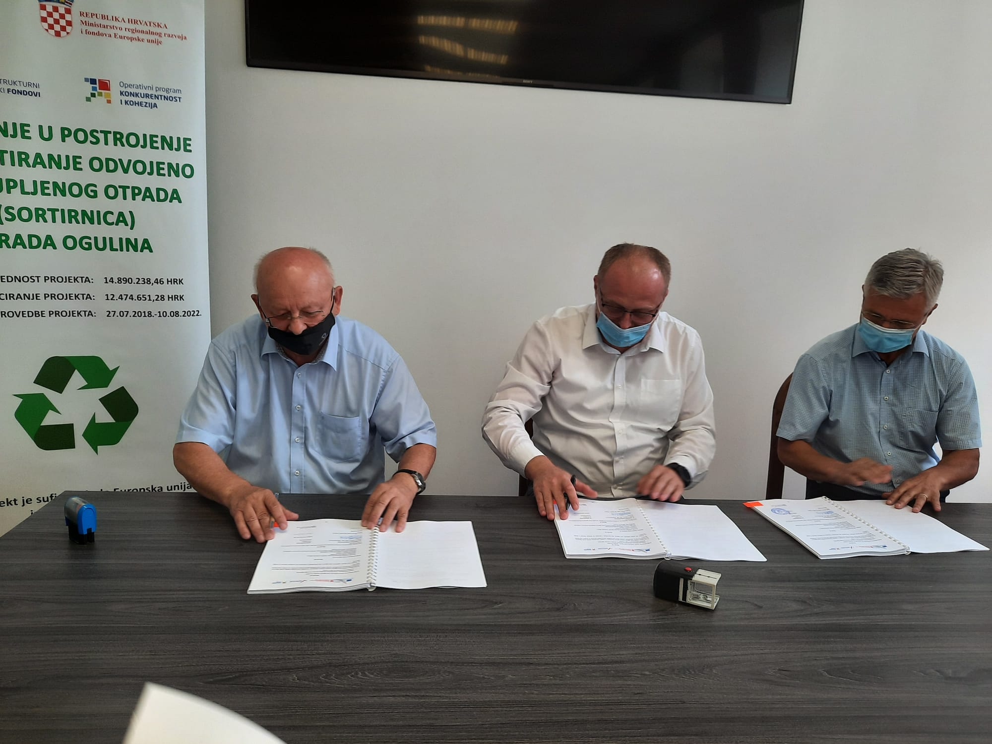 Contract Signed for Construction of Sorting Plant in Ogulin