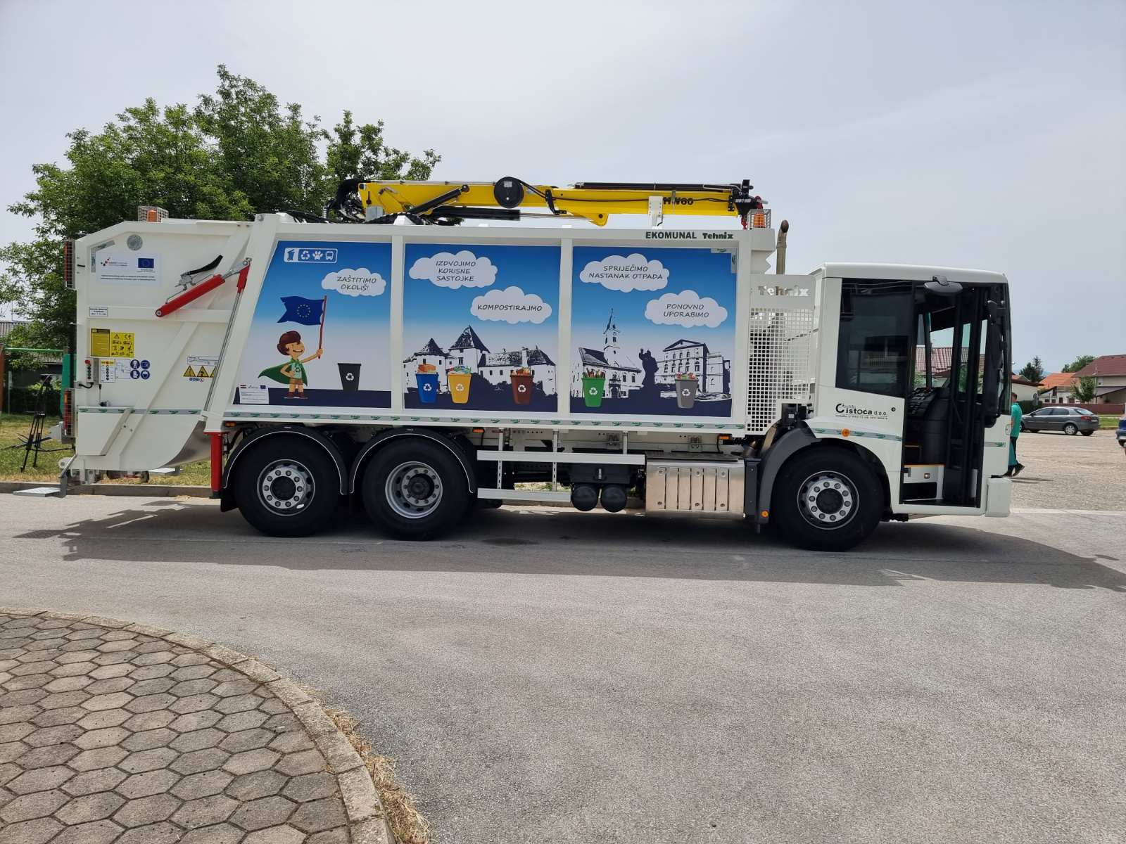 Komunalno vozilo za Čistoću Varaždin