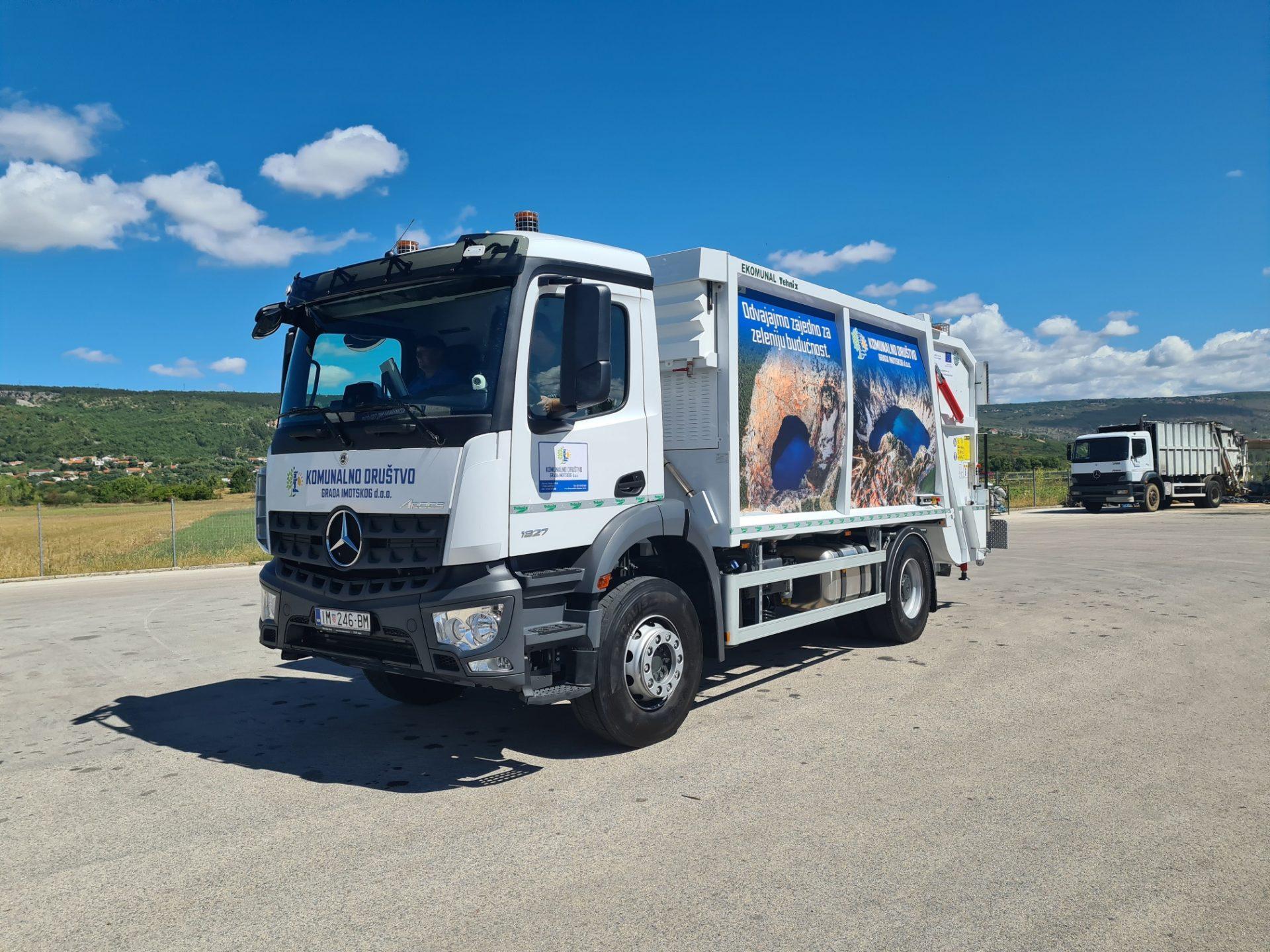 Imotski dobio novo Komunalno vozilo