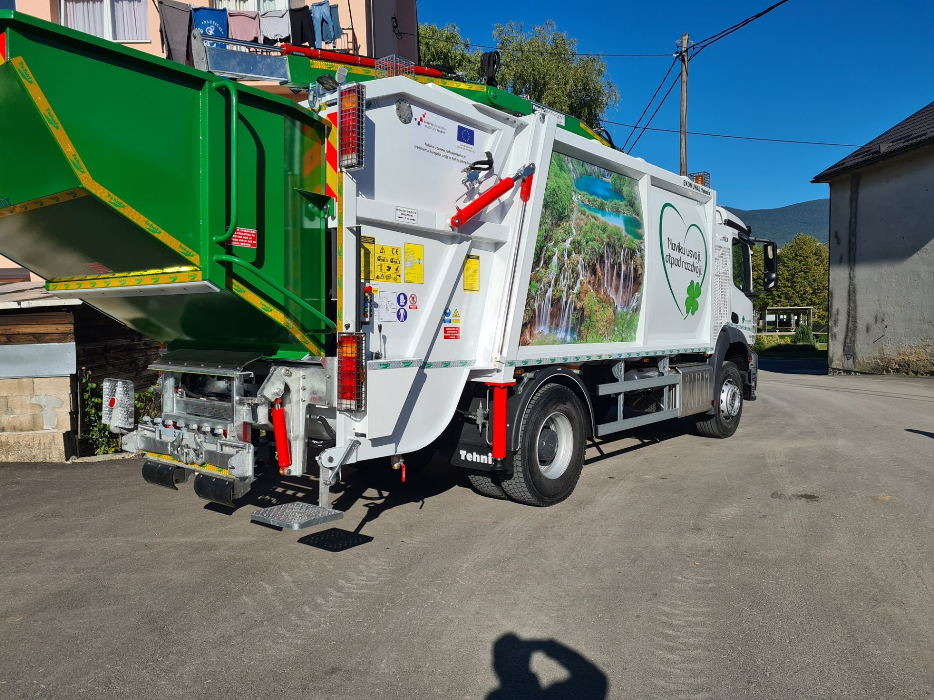 Delivery for Komunalac d.o.o. Korenica