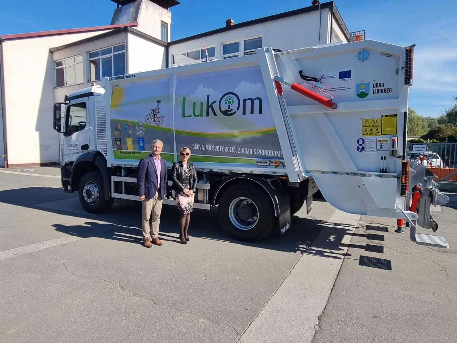 Lukom Ludbreg enriched the Vehicle Fleet